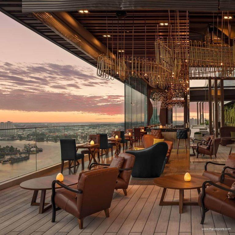 Seen Restaurant & Rooftop Bar at Avani Riverside Bangkok