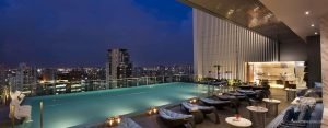 Lapse Rooftop Bar at Hilton Sukhumvit Bangkok