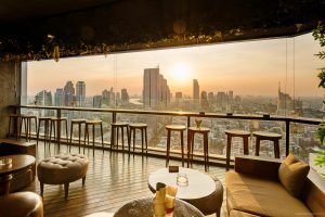 Scarlett Rooftop Bar Bangkok