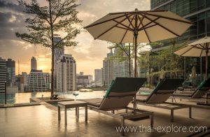 Sivatel Bangkok Rooftop Pool Bar