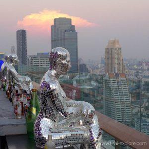 The Roof at 38 Bar at Mode Hotel Bangkok