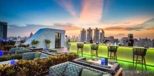 Vanilla Sky Rooftop Bar Bangkok