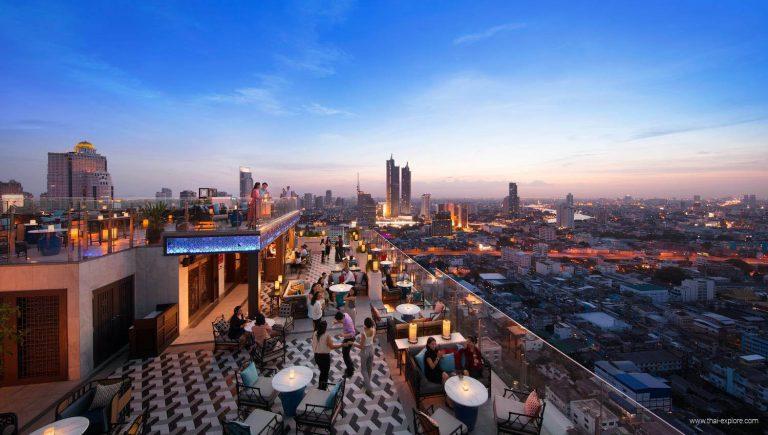 Yao Rooftop Bar Bangkok at Marriott Hotel The Surawongse