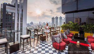 Mojjo Rooftop Lounge & Bar Bangkok