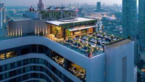 ABar Rooftop Bar at Marriott Marquis Queens Park Bangkok