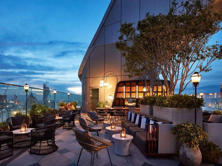 Penthouse Bar & Grill Bangkok. Best rooftop bar.