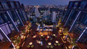 Spectrum Lounge & Bar at Hyatt Regency Bangkok
