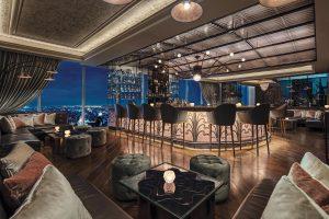 The Loft Bar at Waldorf Astoria Bangkok