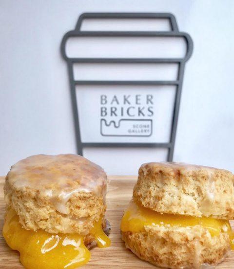 Baker Bricks Scone Bakery and Cafe in Bangkok