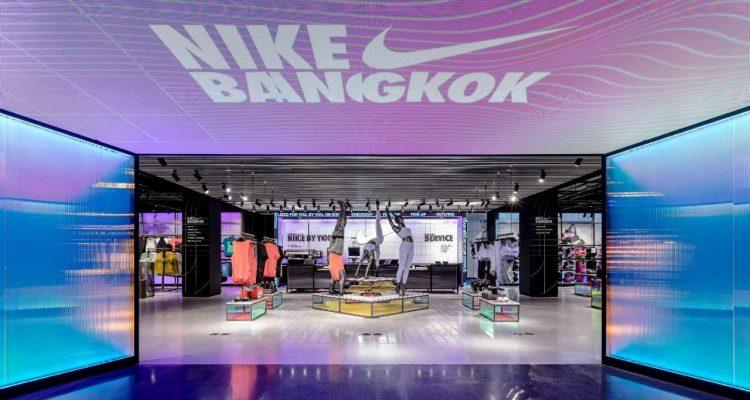 Nike Flagship Store Bangkok in Siam Center